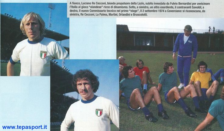 I MITICI ANNI 70 La Nazionale Italiana di Calcio ... ⚽️ C'ero anch'io ... http://www.casatepa.it/ 🇮🇹 Made in Italy dal 1952