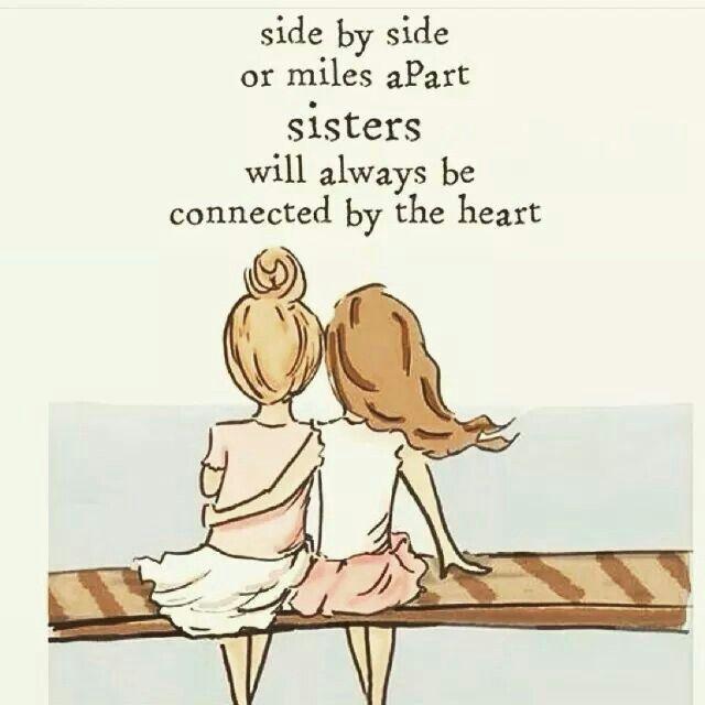 Mein Herz fühlt genau das für meine ganz besondere Schwester ♡