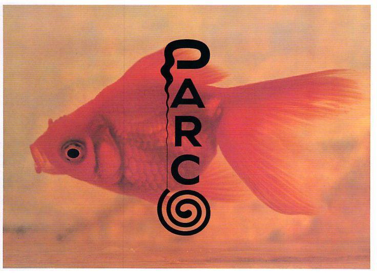 Summer poster for the Japanese department store Parco _ Art Director: Hiroshi Yonemura, Typographer: Masayoshi Nakajo