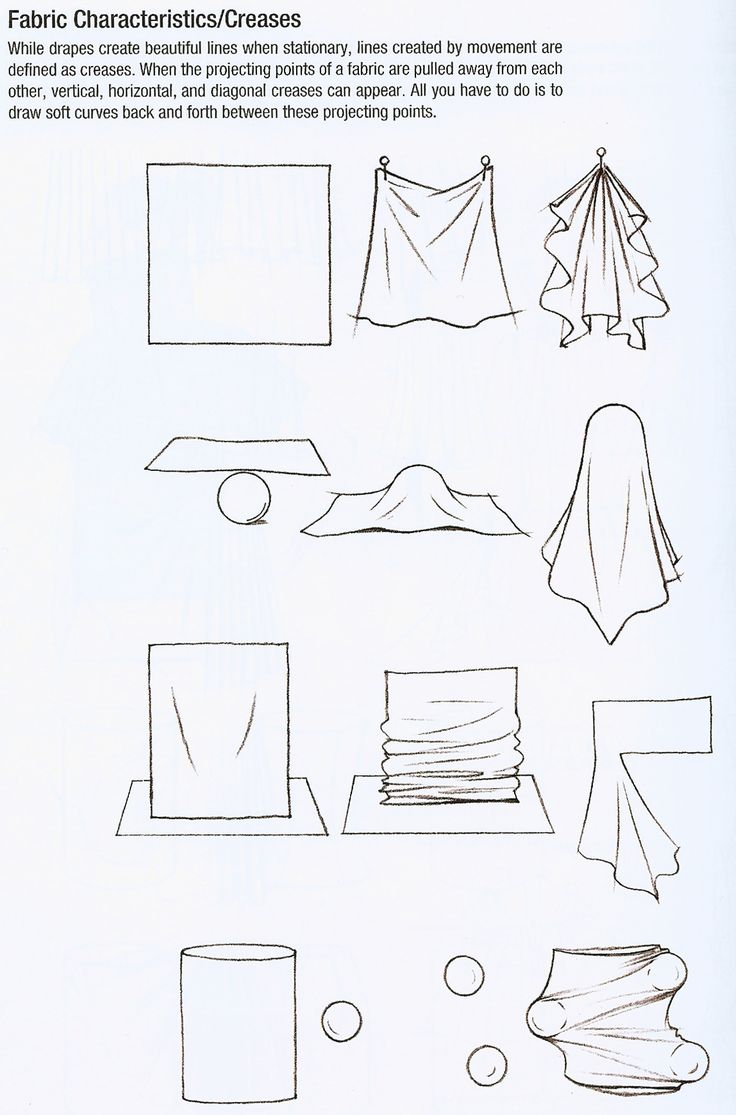 How to Draw Cloth ,How to Draw Fabric Folds Tutorial by Jane Mere