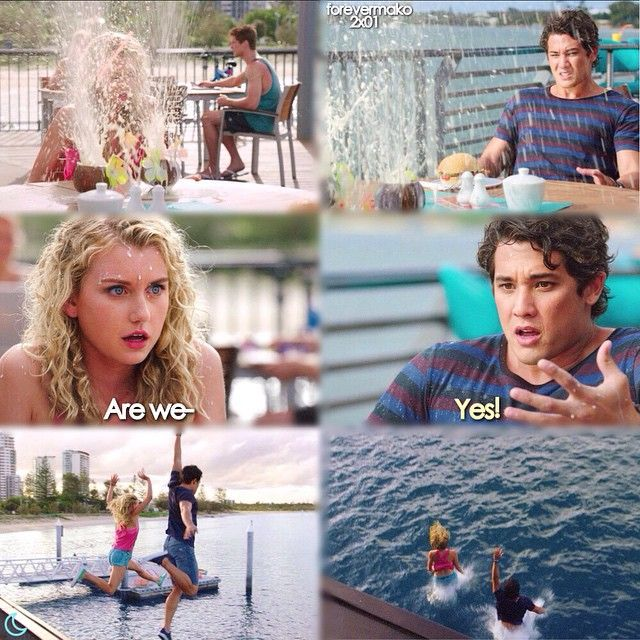 Mako mermaids ondina and zac mako mermaids island of for H2o seasons