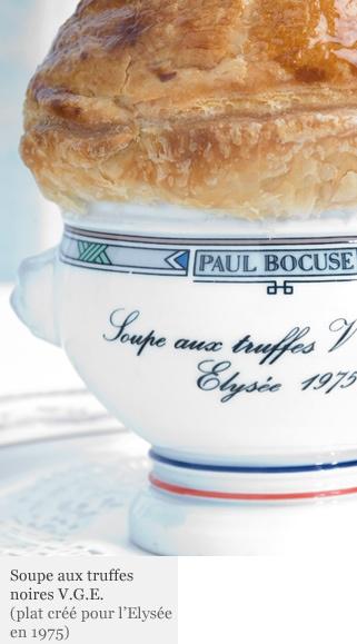 Soupe aux truffes V G E . Bocuse .