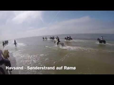 Reiturlaub Rømø, Dänemark, 2015 - YouTube