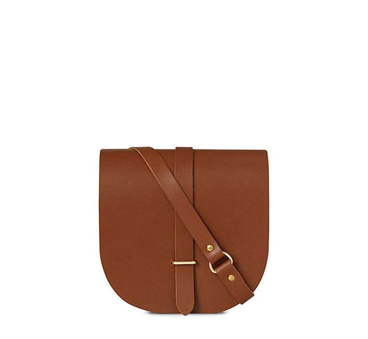 Vintage Leather Saddle Bag   The Cambridge Satchel Company