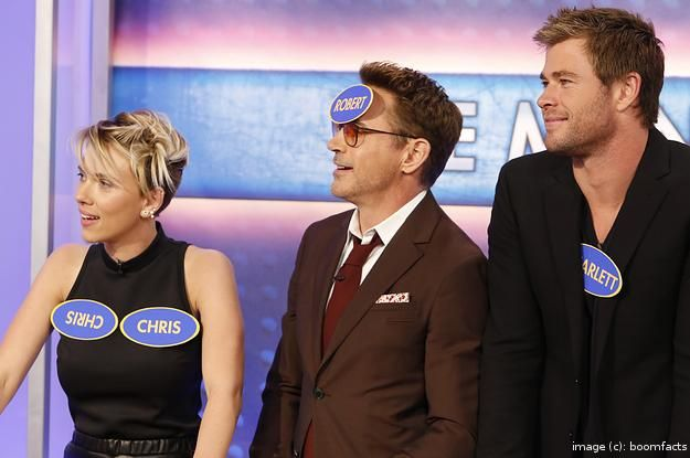 What Happens When the Avengers Play Family Feud. LOVE THAT EPISODE!
