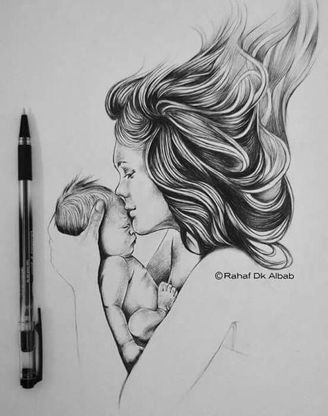 Novas idéias de tatuagem para mães com filhos e mães e filhos 41 ideias   – pencile