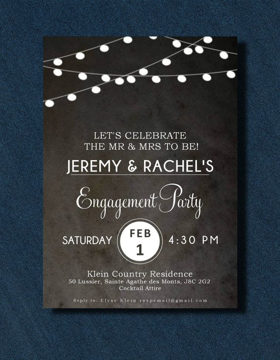 Vintage Lantern Engagement Invitation by PaperCandyCa on Etsy, $2.00