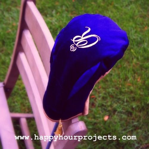 Man-Craft: Crown Royal Bag to Golf Club Headcover
