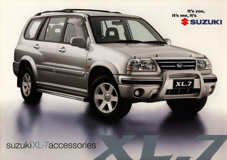 Suzuki XL-7 accessories; 2001  Australia | auto car brochure | by worldtravellib World Travel library - The Collection