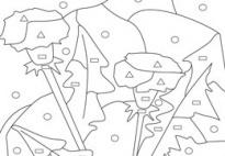Tarassaco-Simboli & Colori (Scheda) da www.kigaportal.com