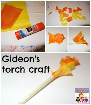 Gideon's torch craft