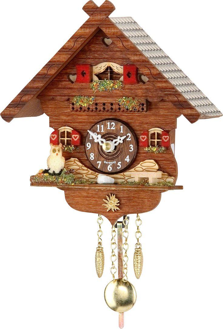 Reloj de péndulo de cuarzo 16cm de Trenkle Uhren