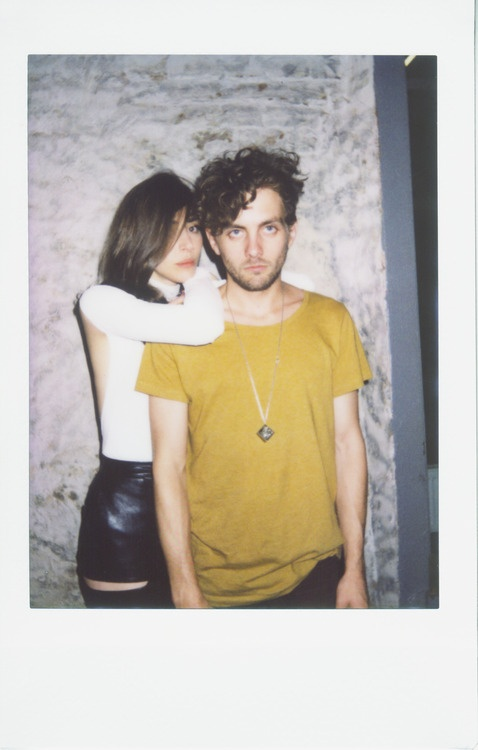 Caroline Polachek and Patrick Wimberly of Chairlift