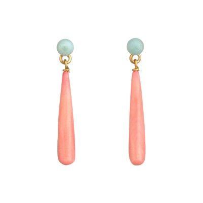 beautiful drop earrings by les nereides