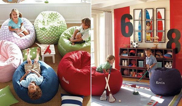 Bean bags!! A dream come true for kids. Get your kid a bean bag and ensure a lot of fun, comfort, and decoration in your house.