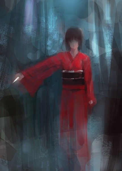 Tags: Anime, Fanart, Kara no Kyoukai, Ryougi Shiki, Pixiv