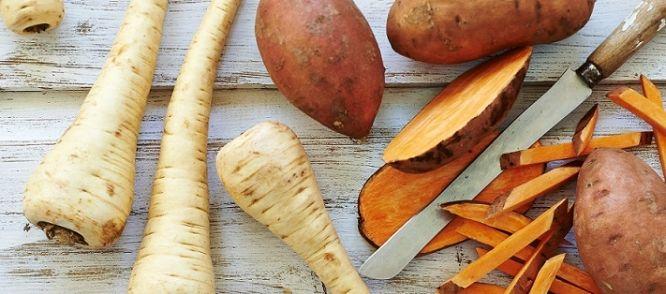 Pastinaakpatat En Zoete-aardappelpatat recept | Smulweb.nl
