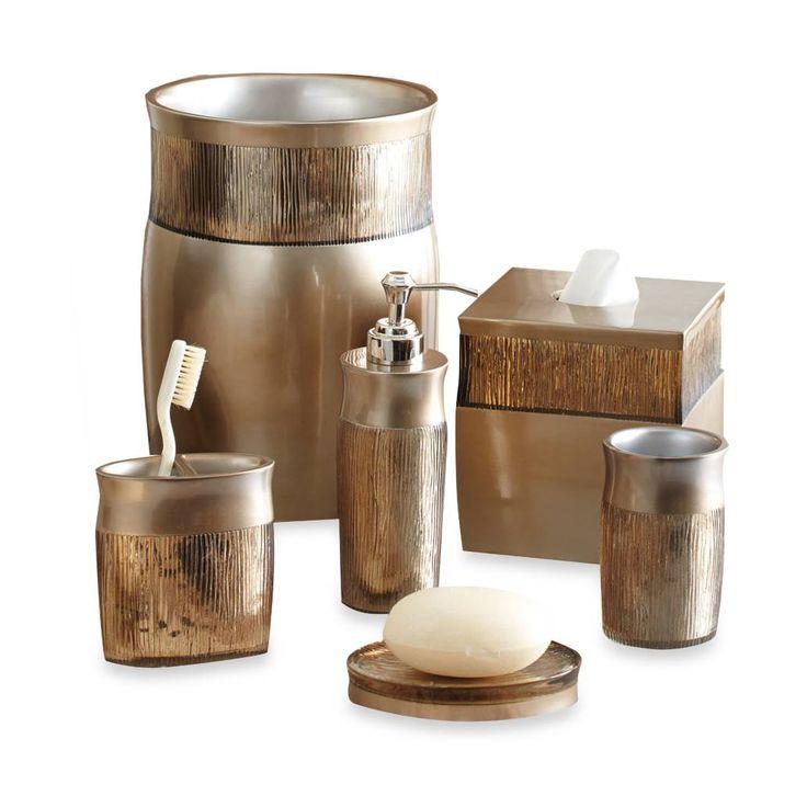 crystal bathroom accessories sets%0A product image for Croscill   Magnolia Bath Ensemble