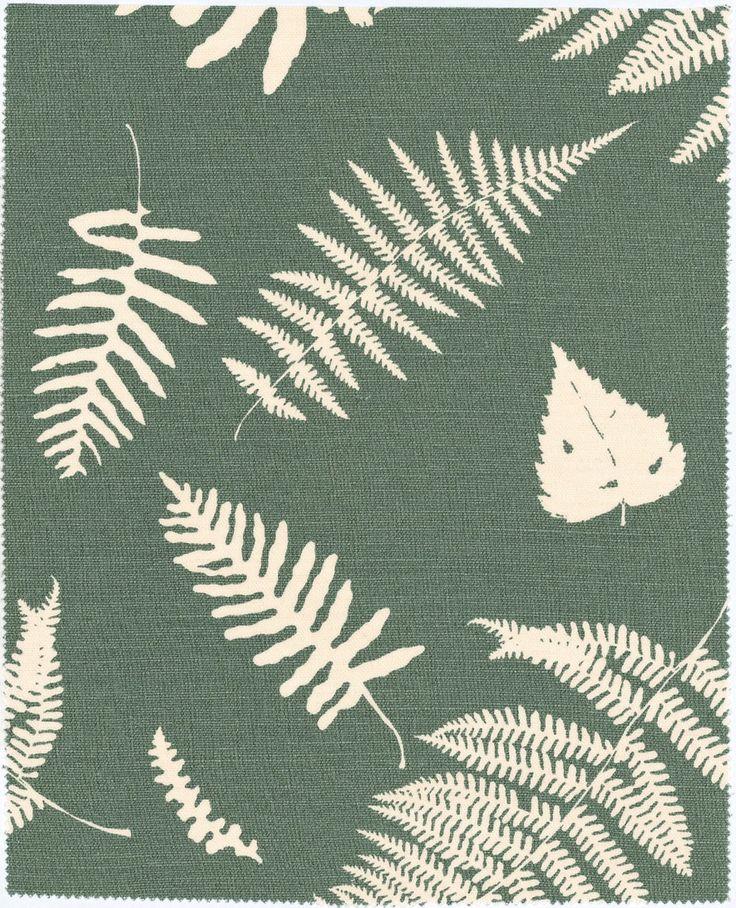 Fern & Dragonfly - Lichen