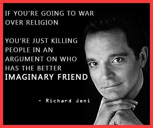 famous atheist quotes | Richard Jeni I miss his humor. My favorite comedian ever.