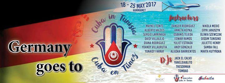 #Events • #Saar.#City    18. #Mai 2017 - 0:00  - 25. #Mai 2017 - 3:00 Ort: Hammamet, Tunisiabeginnt #in 233 Stunden- Hammamet  #Cubaneros y #Cubaneras #in #Deutschland.#Wir #erstellen #diese #Event, #um einfacher #die #Information #ueber #den #Festival #in Tunisien #mit #euch, #zu teilen: #Wir organisieren #eine #grosse grouppe #mit #hilfe #von #viele #freunde, #die #mit http://saar.city/?p=56805