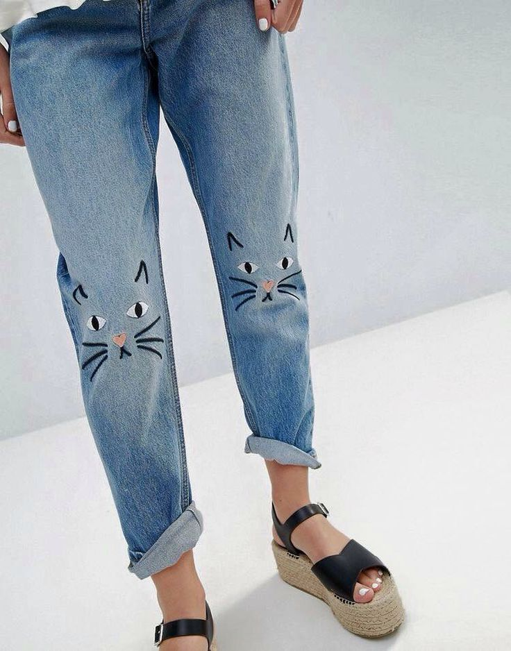 Denim Kitty knees                                                                                                                                                                                 More