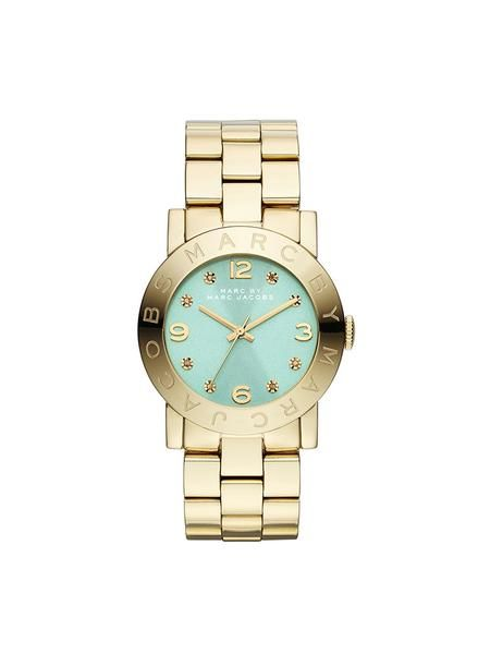 Marc by Marc Jacobs AMY Gold (MBM3301) - Mint Dial 36mm - The Watches Men & Co - 1