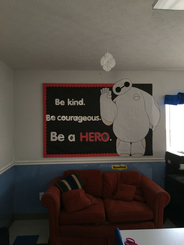 Big Hero 6 Bulletin Board