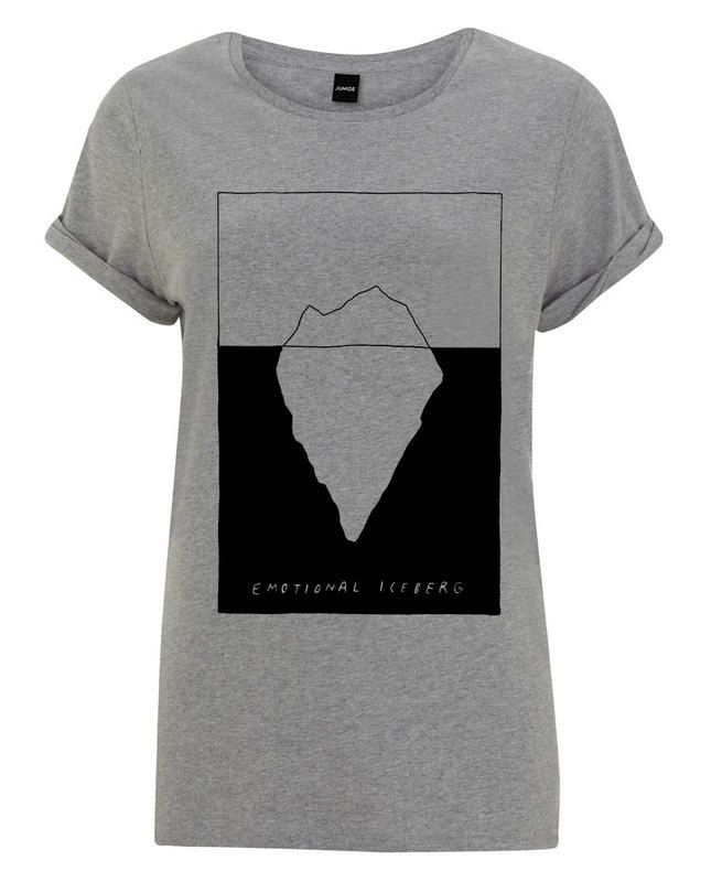 Iceberg as Women's T-Shirt by Wasted Rita | JUNIQE