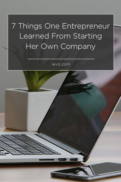 Hannah Bonomo started designing stationery as a hobby... then she learned how to run a business. www.levo.com #entrepreneur