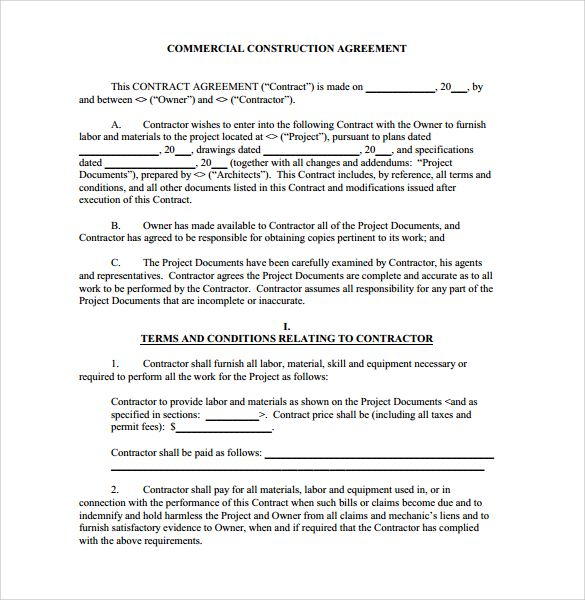 construction contract agreement , 8+ Construction Contract Template: Considering Basic Elements and Making , Construction contract template can be a medium to clarify the rights and obligations of two involved parties. The basic seems like other contracts, here are the details.
