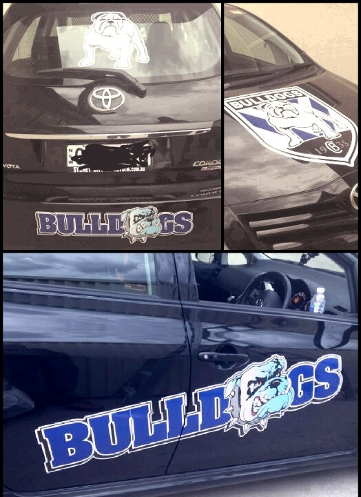 Love my team the @nrl_bulldogs #proudtobeabulldog #bringthenoise #togetherforever #BULLDOGS @nrl