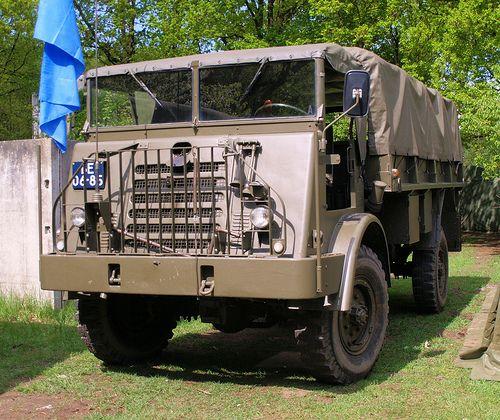 DAF YA 314, Royal Dutch Army