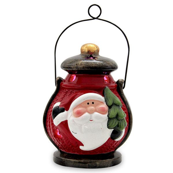 Santa Lantern LED Showpiece Rs. 399. Make your loved one feel special on Christmas as you surprise her or him with this Santa LED lantern. http://hallmarkcards.co.in/collections/christmas-gifts/products/christmas-party-ideas