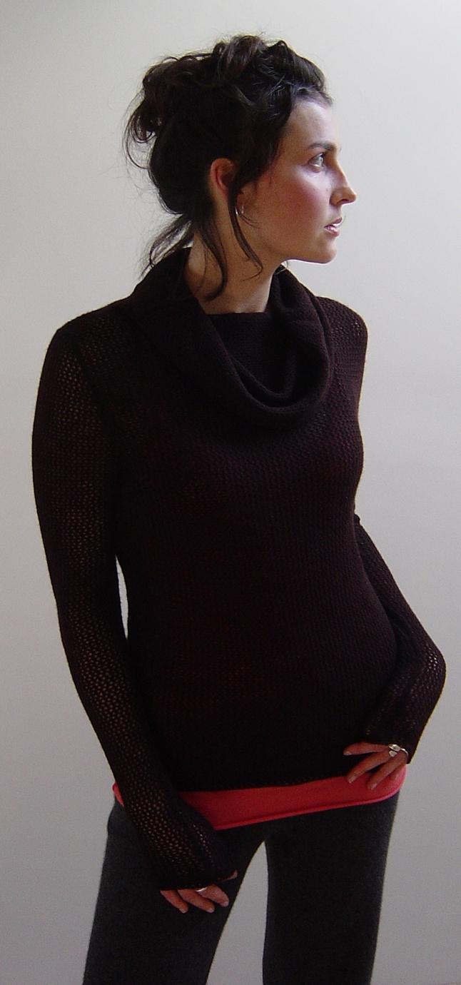 Stewart & Brown Cashmere Cowl Neck Sweater