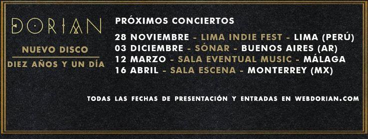 Hoy en #BuenosAires #Argentina #concierto de @Dorian_Oficial #Diezañosyundia #VisteMusica  http://www.latiendadelosartistas.com/es/56-fabricante-del-merchandising-oficial-de-dorian