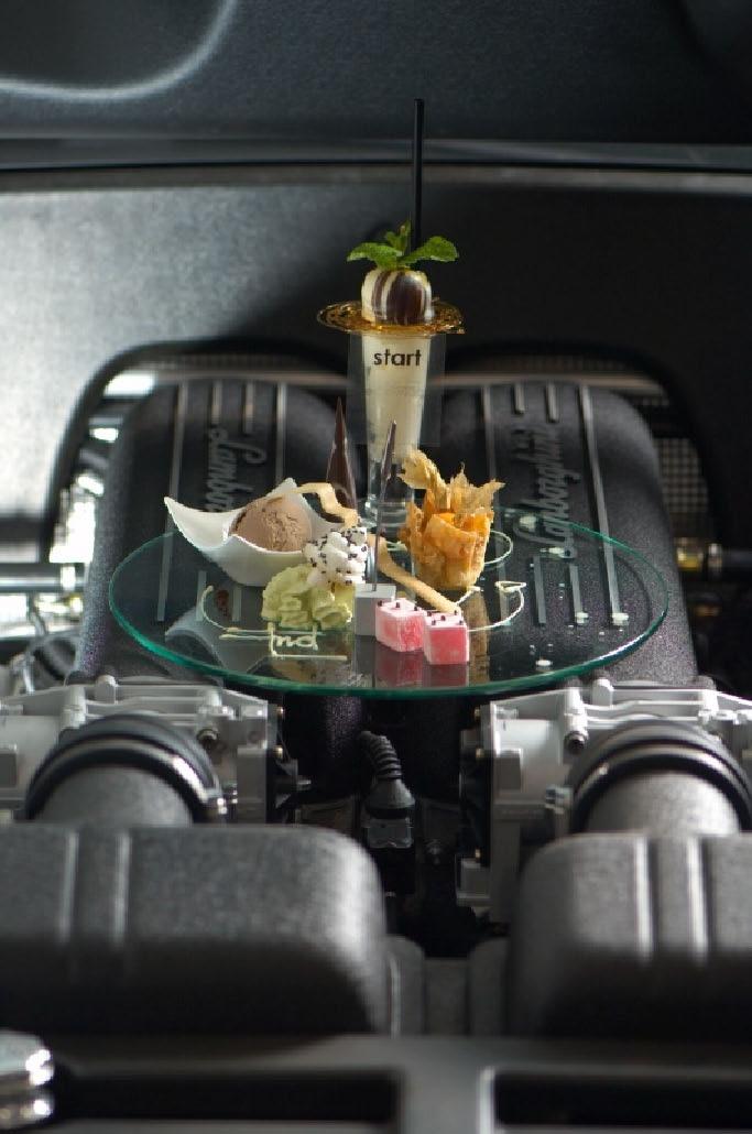 Lamborghini Food by Bruce Robertson.