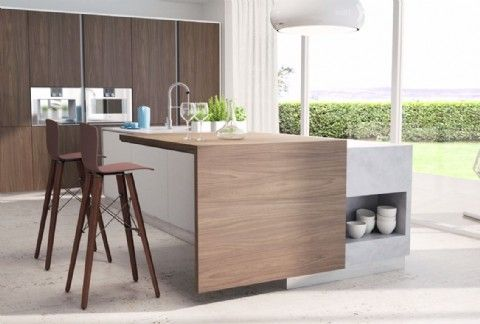 Superb EDGE Sliding Breakfast Bar. EDGE Allows A Section Of Mounted Kitchen  Worktop To Be Slid