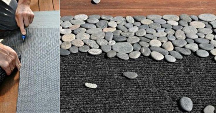 Žena vzala obyčajné kamienky a vytvorila niečo krásne! Kreatívne nápady na dekorácie do vašej domácnosti!