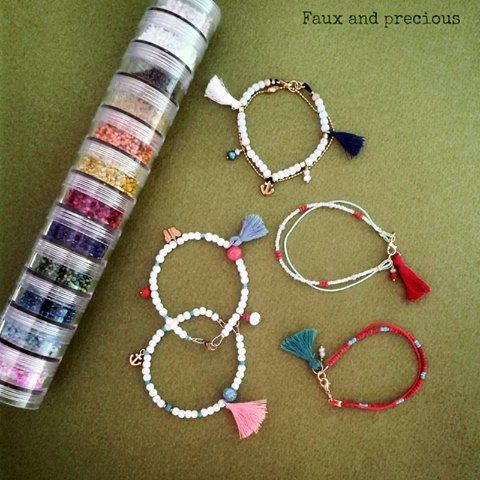 Our tassels bracelets collection is here.. More are coming soon.<3