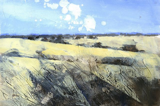 Snow fields10 x 7 inches2013 by Paul Bailey