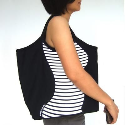 Slim Bag -- Contour Canvas Bag - neat