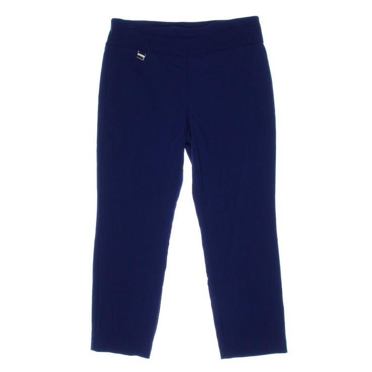 Alfani Womens Rayon Tummy Slimming Capri Pants