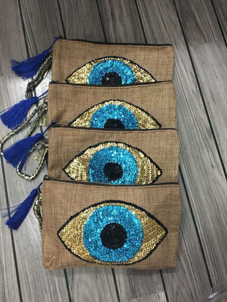 "Clutches ""evileye "" By ""Barthelemy Rose """