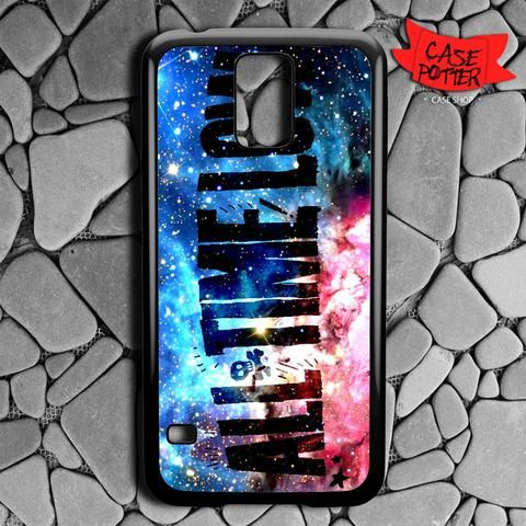 All Time Low Galaxy Nebula Samsung Galaxy S5 Black Case