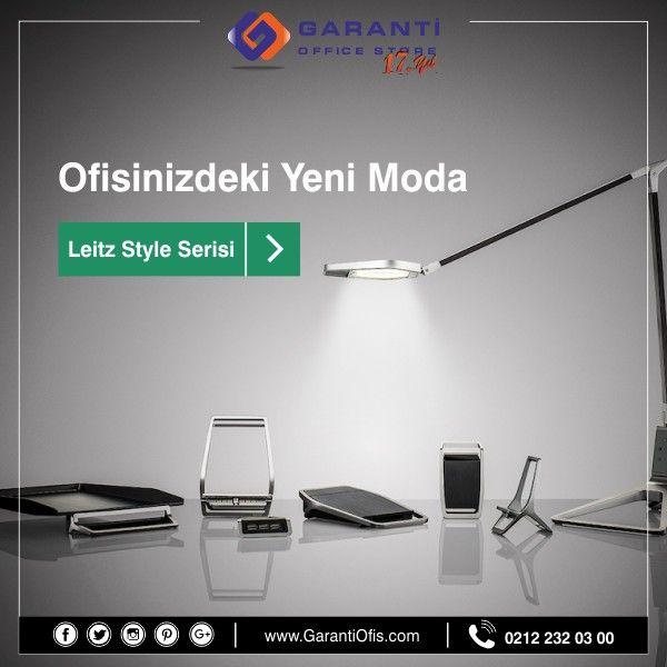 Ofisiniz için en şık tasarımlar GarantiOfis.com'da! En uygun fiyatlarla bi'tıkla ayağınıza kadar getiriiyoruz.  #masaustugerecler #leitz #leitzstyle #ofismalzemeleri #leitzofis