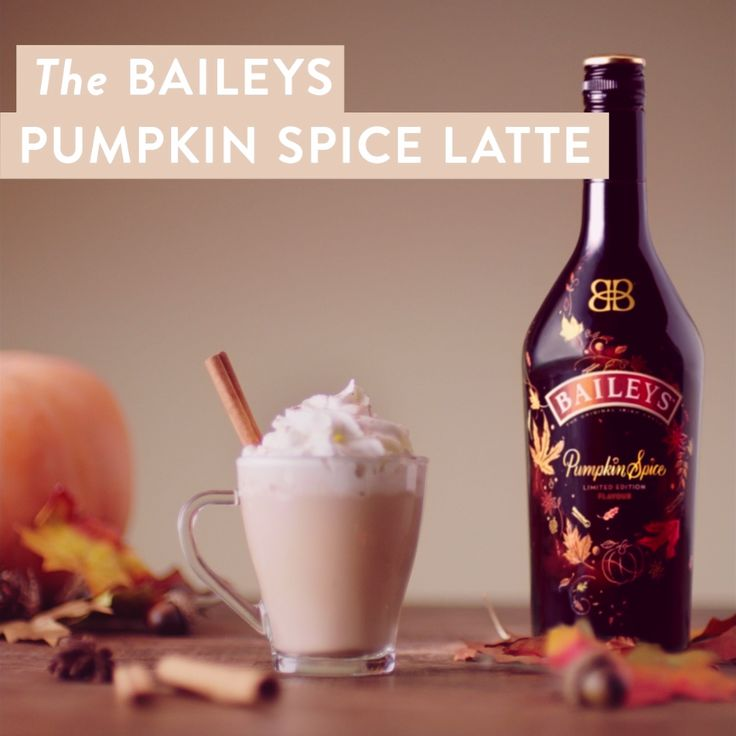 Make yourself a homemade latte with limited edition Baileys Pumpkin Spice. This member of the Baileys Irish Cream Liqueur family combines the delicious Fall flavors of sweet cinnamon, rich maple, brown sugar, and baked pie crust with hints of vanilla and coffee. This easy recipe is perfect for a weekend brunch, cozying up with some cookies at home, or indulging after a long day. Make it hot and enjoy your coffee with a Baileys and pumpkin twist!