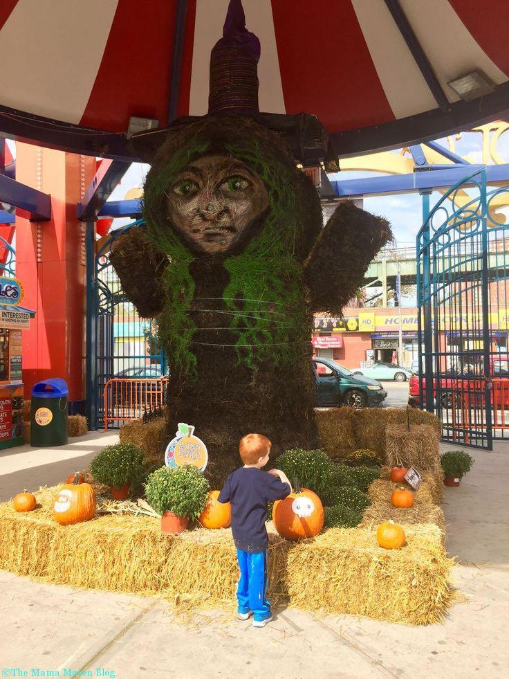 halloween harvest at luna park in coney island coney island