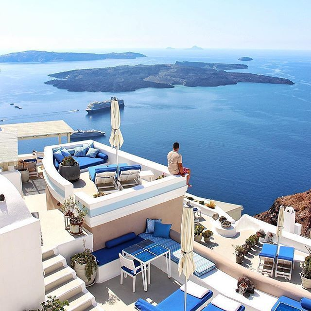 Iconic Santorini @topsantoriniphoto TOP Europe by @kinsonsworld
