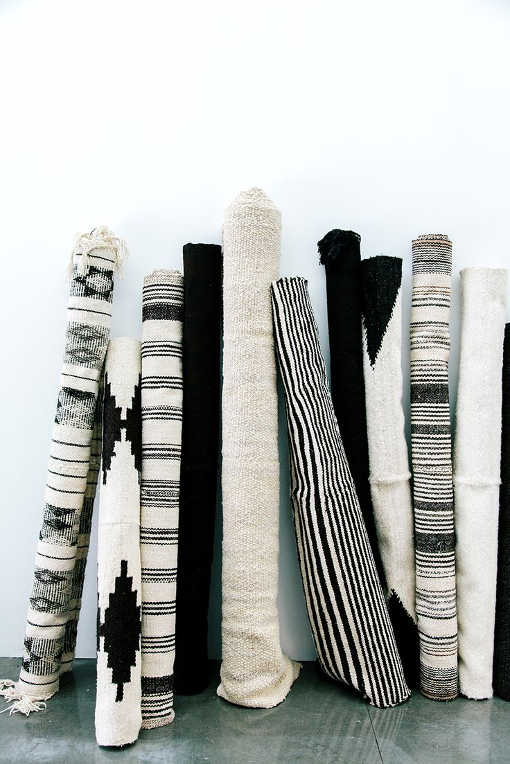Monochrome Pampa rugs, handwoven with love by #wearepampa